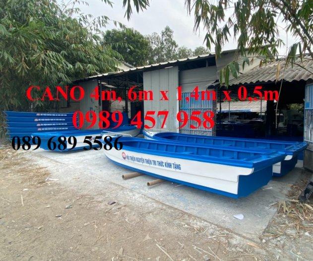 Cano chở 8-10 người, Cano chở 20 người 6mx1.75 giá tốt6