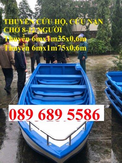 Cano chở 8-10 người, Cano chở 20 người 6mx1.75 giá tốt5