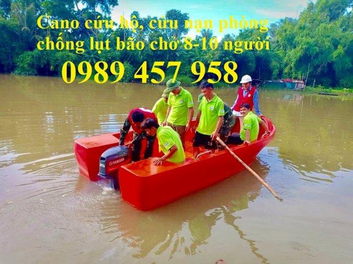 Cano cứu nạn, Cano phòng chống lụt bão, Thuyền cứu hộ9