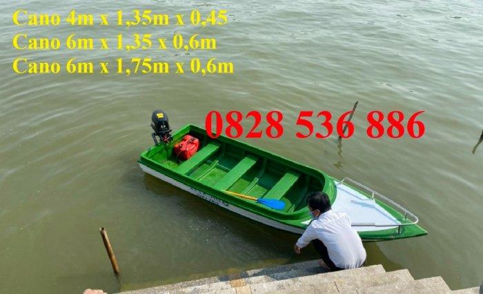 Cano cứu hộ chở 6 người, cano chở 12 người, cano du lịch gắn động cơ8