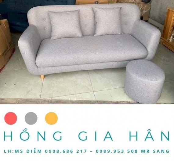 Sofa Đơn Vải Nỉ Cho Quán Yêu HGH0