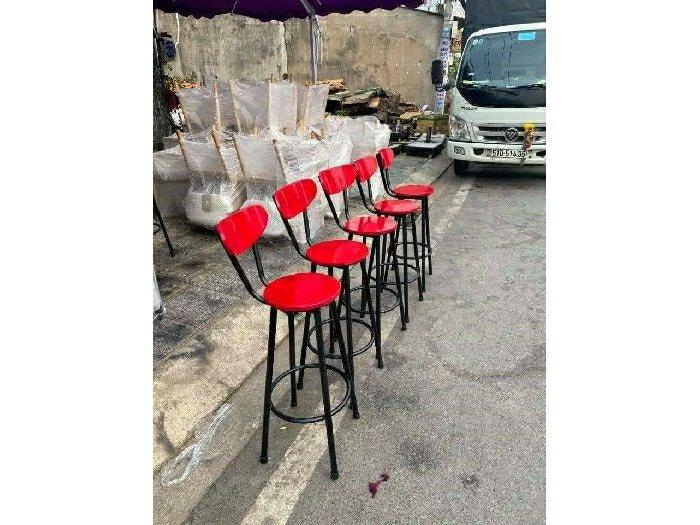 Ghế gỗ quầy đủ màu giá rẻ3