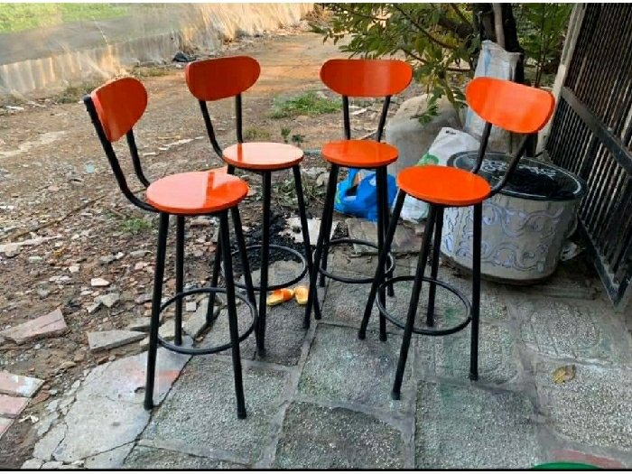 Ghế gỗ quầy đủ màu giá rẻ4