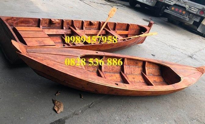 Thuyền gỗ, ghe gỗ, xuồng ba lá, thuyền trang trí, xuồng trưng bày(liên hệ báo giá)0