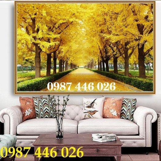 Tranh gạch men, tranh ốp tường đẹp 3d trang trí HP015513