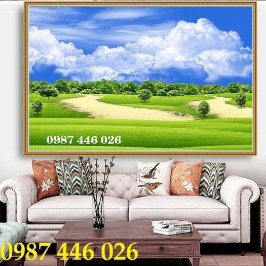 Tranh gạch men, tranh ốp tường đẹp 3d trang trí HP01559