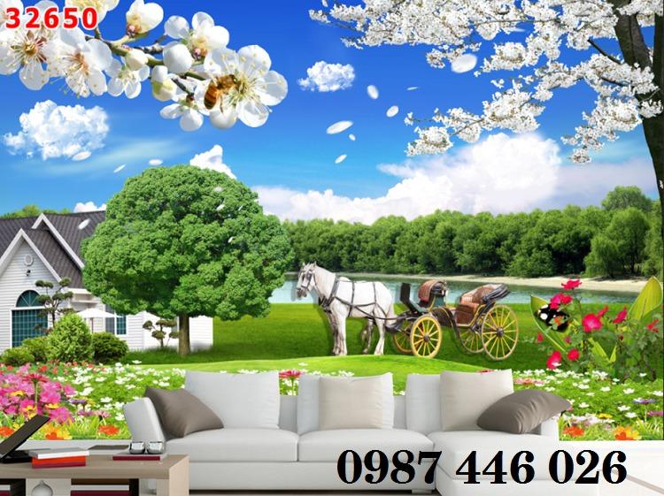 Tranh gạch men, tranh ốp tường đẹp 3d trang trí HP01557