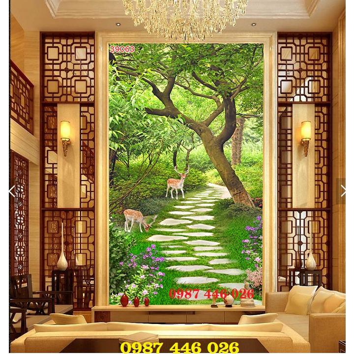 Tranh gạch men, tranh ốp tường đẹp 3d trang trí HP01556