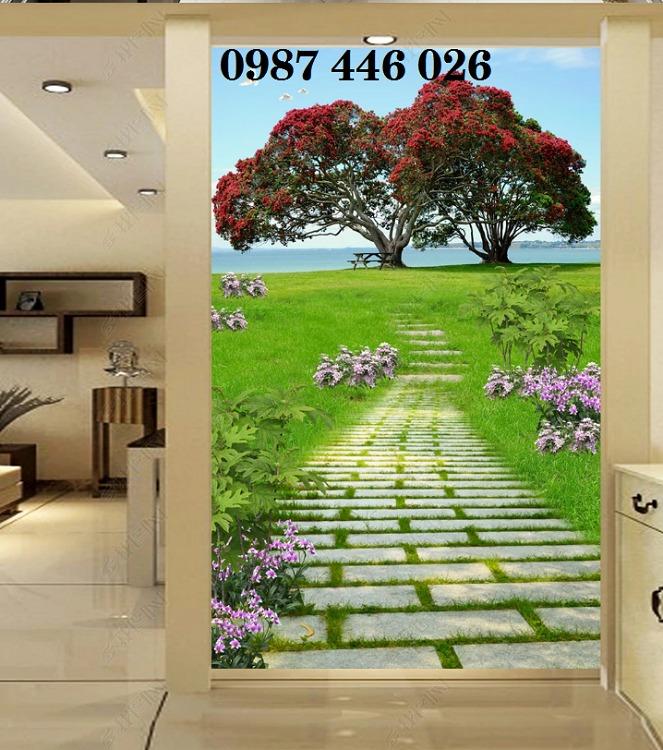 Tranh gạch men, tranh ốp tường đẹp 3d trang trí HP01552
