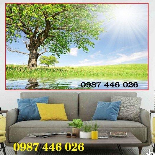 Tranh gạch men, tranh ốp tường đẹp 3d trang trí HP01551