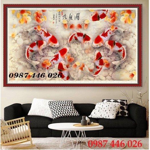 Tranh gạch hoa sen, gạch trang trí ốp tường HP76611