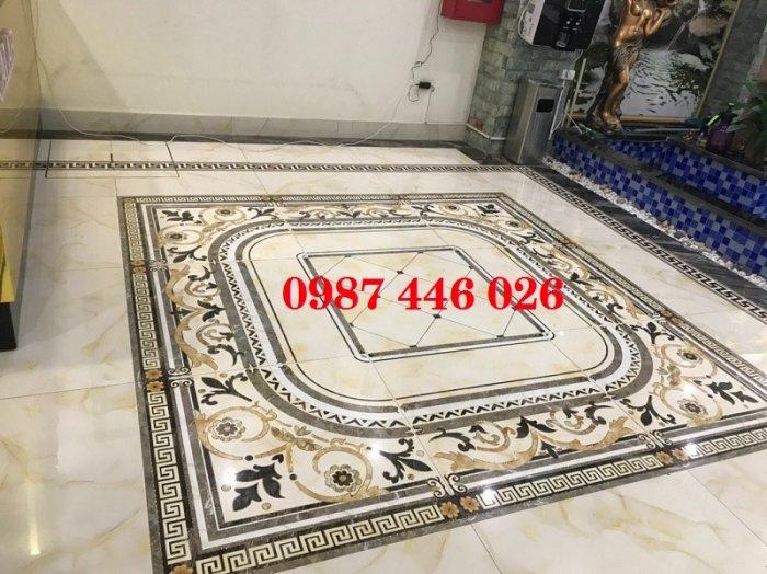 Gạch thảm sảnh- gạch lát nền trang trí phòng khách rộng HP02958