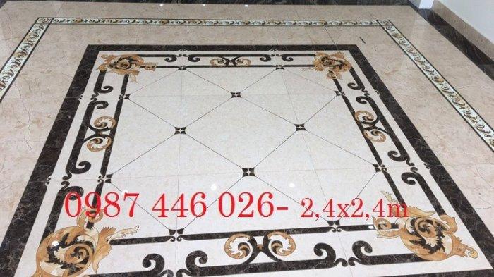 Gạch thảm sảnh- gạch lát nền trang trí phòng khách rộng HP02951