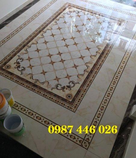 Gạch thảm sảnh- gạch lát nền trang trí phòng khách rộng HP02950