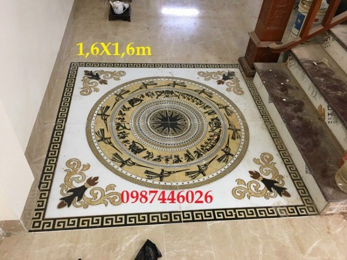 Gạch thảm sàn trang trí chiếu nghỉ phòng khách đẹp HP03148