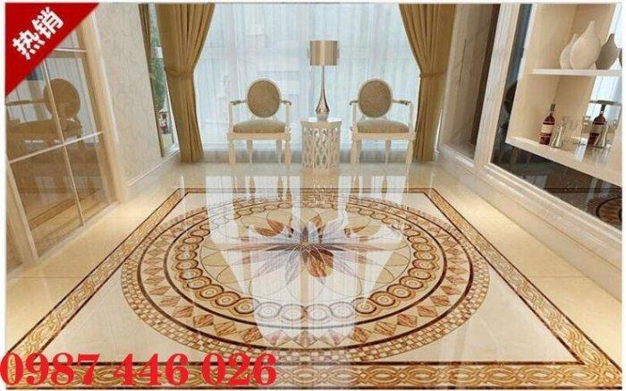 Gạch thảm sàn trang trí chiếu nghỉ phòng khách đẹp HP03147