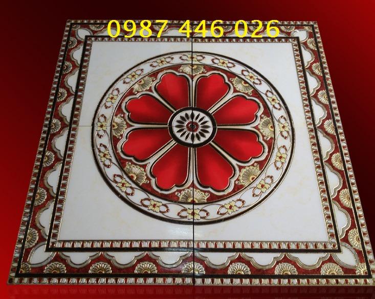 Gạch thảm sàn trang trí chiếu nghỉ phòng khách đẹp HP03144