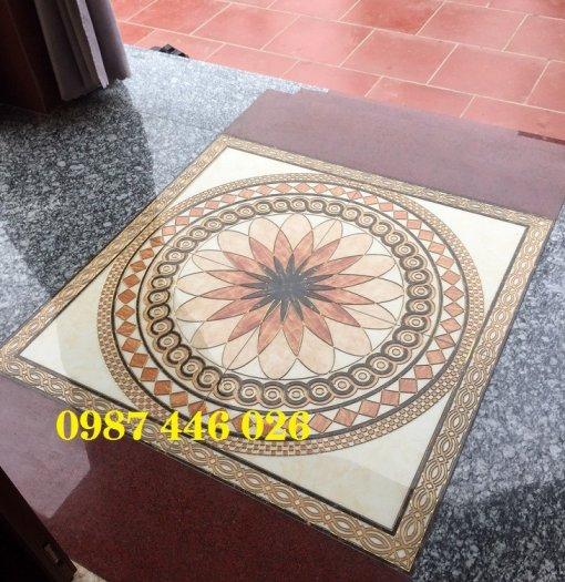 Gạch thảm sàn trang trí chiếu nghỉ phòng khách đẹp HP03143
