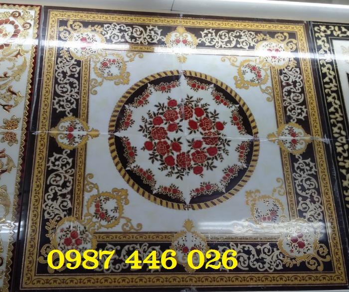 Gạch thảm sàn trang trí chiếu nghỉ phòng khách đẹp HP03141