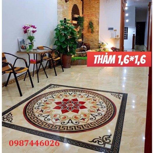 Gạch thảm sàn trang trí chiếu nghỉ phòng khách đẹp HP03140