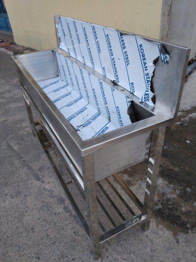 Chậu rửa chén inox Hải MInh HM 0214