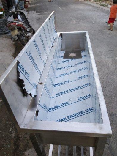 Chậu rửa chén inox Hải MInh HM 0212