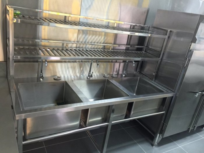 Bồn rửa chén 3 ngăn Hải MInh HM 0619