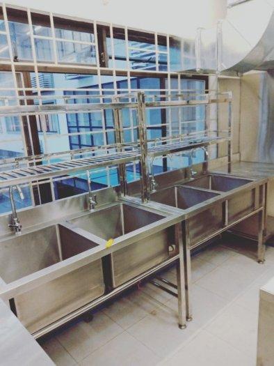 Bồn rửa chén 3 ngăn Hải MInh HM 0618