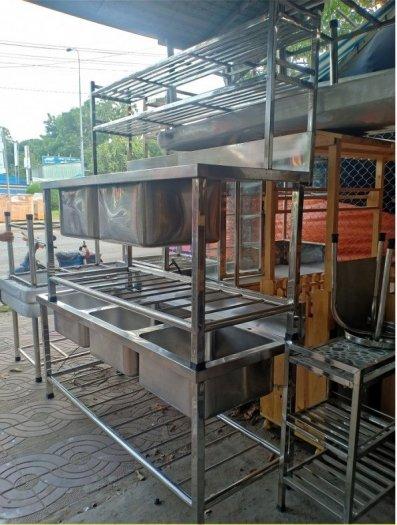 Bồn rửa chén 3 ngăn Hải MInh HM 0614