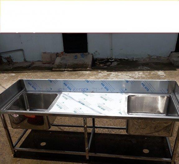 Bồn rửa chén 3 ngăn Hải MInh HM 0612