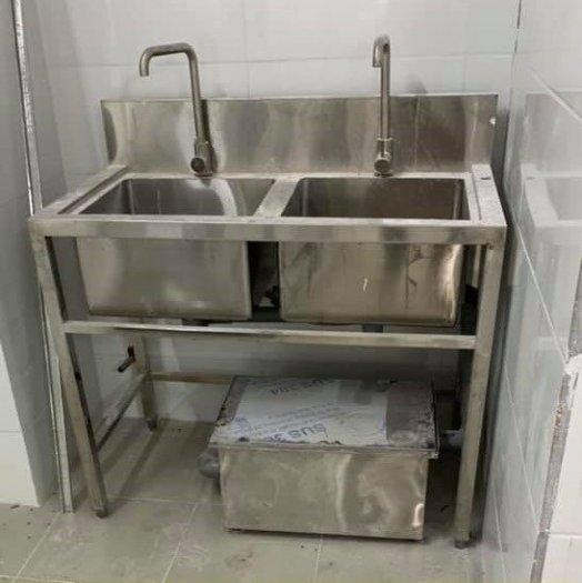 Bồn rửa chén 3 ngăn Hải MInh HM 0611