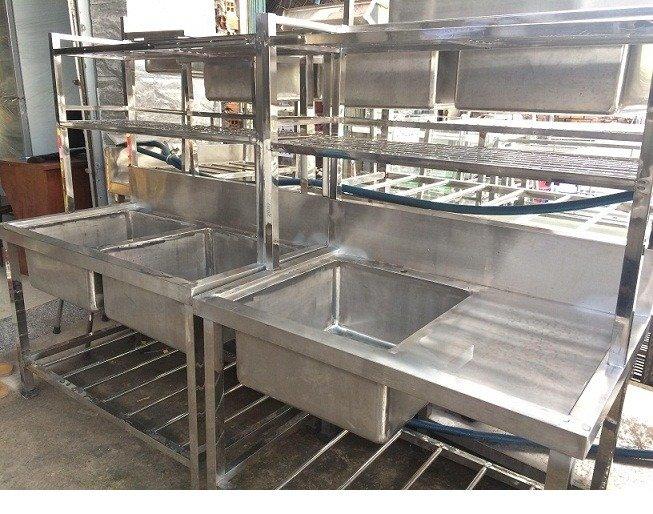 Bồn rửa chén 3 ngăn Hải MInh HM 069