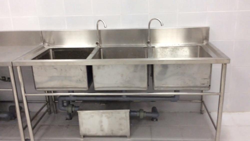 Bồn rửa chén 3 ngăn Hải MInh HM 065