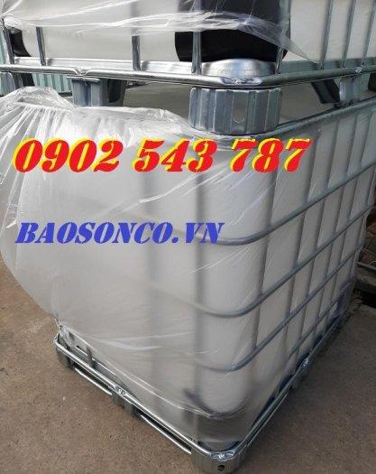 Thùng nhựa 1000 lít chất lượng tốt tại công ty Bảo Sơn3