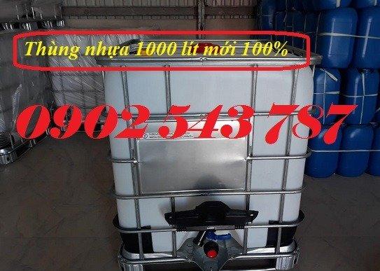 Thùng nhựa 1000 lít chất lượng tốt tại công ty Bảo Sơn1