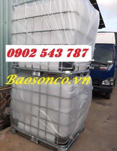 Thùng nhựa 1000 lít chất lượng tốt tại công ty Bảo Sơn0