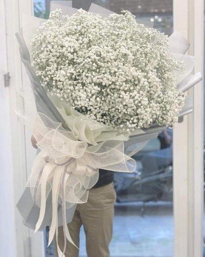 Bó hoa baby trắng khổng lồ tặng người yêu - LDNK380
