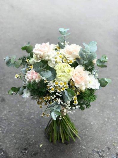 Bó hoa cưới cầm tay đẹp hiện đại - LDNK750