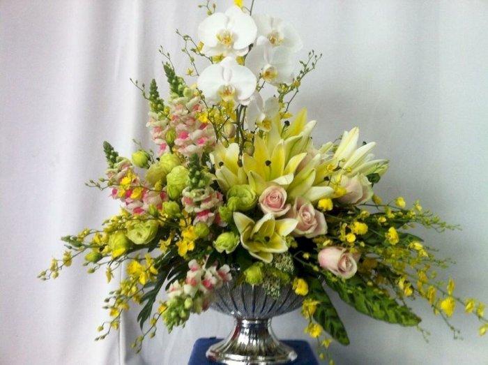 Bình hoa tặng mẹ nhân ngày quốc tế phụ nữ 8/3 - LDNK760