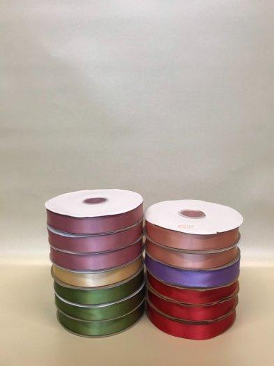Ruy băng lụa cao cấp 2,5F màu trơn - PLNK0819