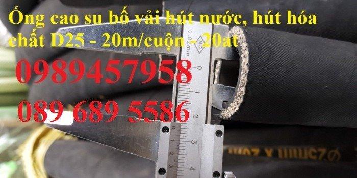 Ống cao su bố vải 60, 76, 80, 100, 110, 1502