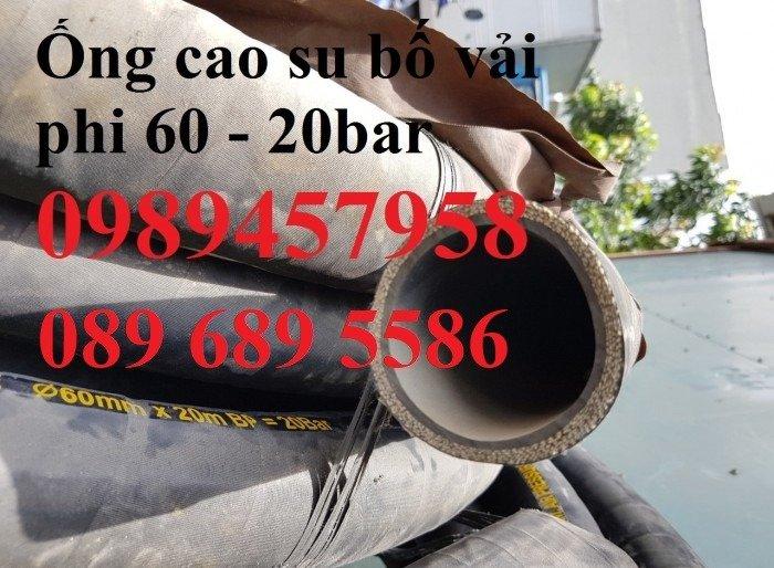 Ống cao su bố vải 60, 76, 80, 100, 110, 1501