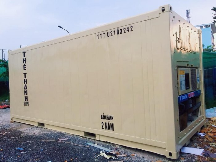 Báo Giá Container Lạnh 40 Feet - Container Lạnh1