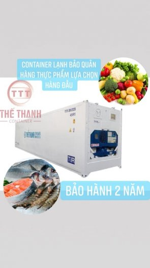 Báo Giá Container Lạnh 40 Feet - Container Lạnh0