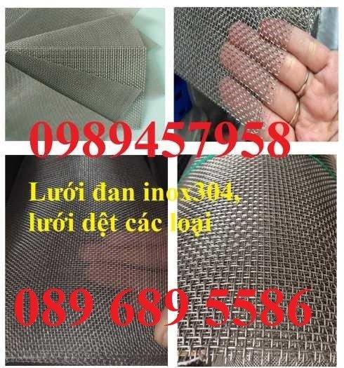 Lưới Inox đan 3x3, 5x5, 10x10, 12x12, 20x20, 30x30, 50x503