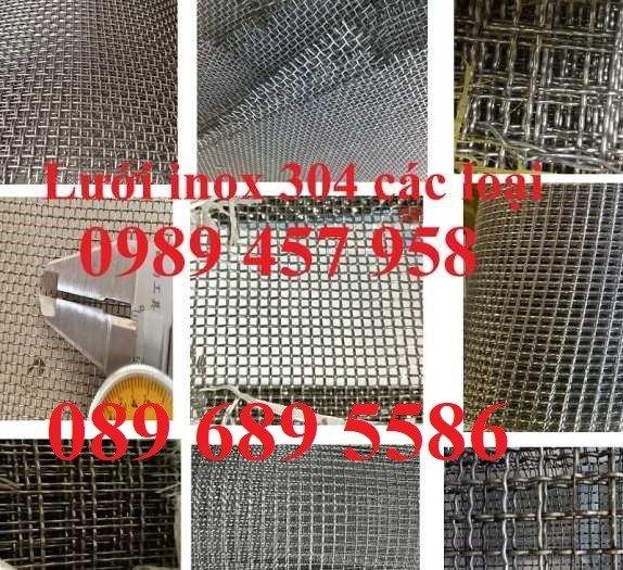 Lưới Inox đan 3x3, 5x5, 10x10, 12x12, 20x20, 30x30, 50x501