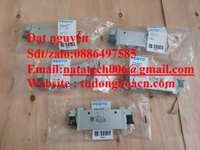 VUVG-L18-B52-T-G14-1P3 van festo điện từ mới 100%3