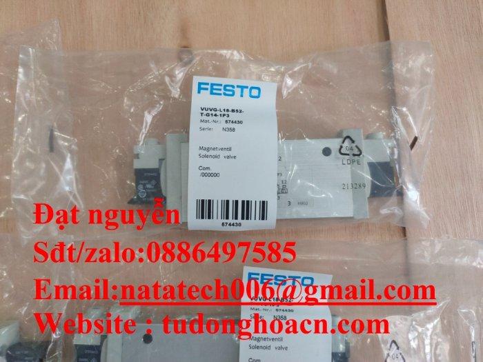 VUVG-L18-B52-T-G14-1P3 van festo điện từ mới 100%2