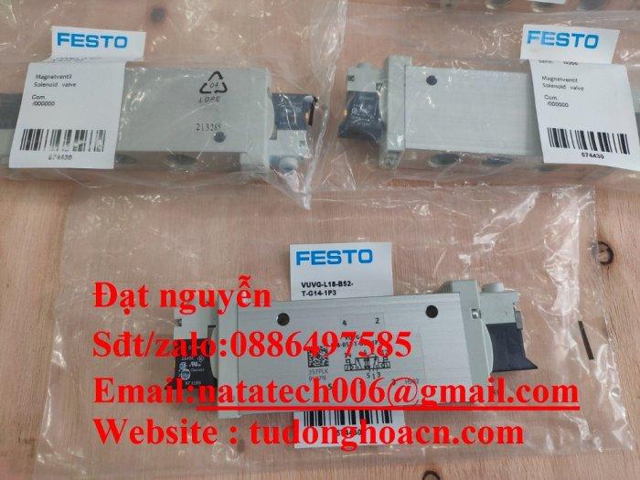 VUVG-L18-B52-T-G14-1P3 van festo điện từ mới 100%0