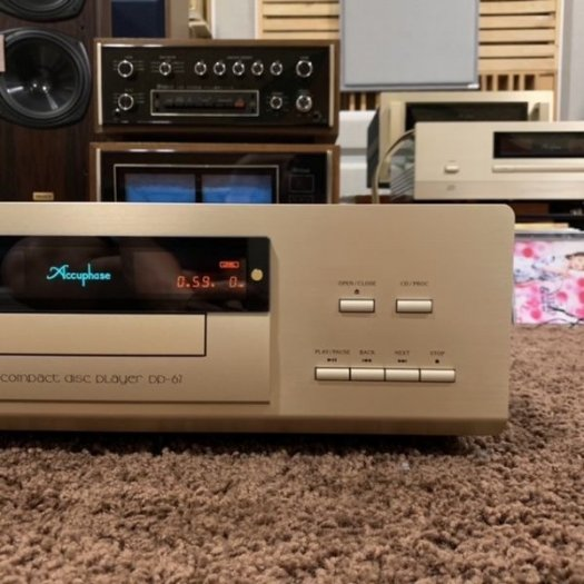CD Accuphase DP-675